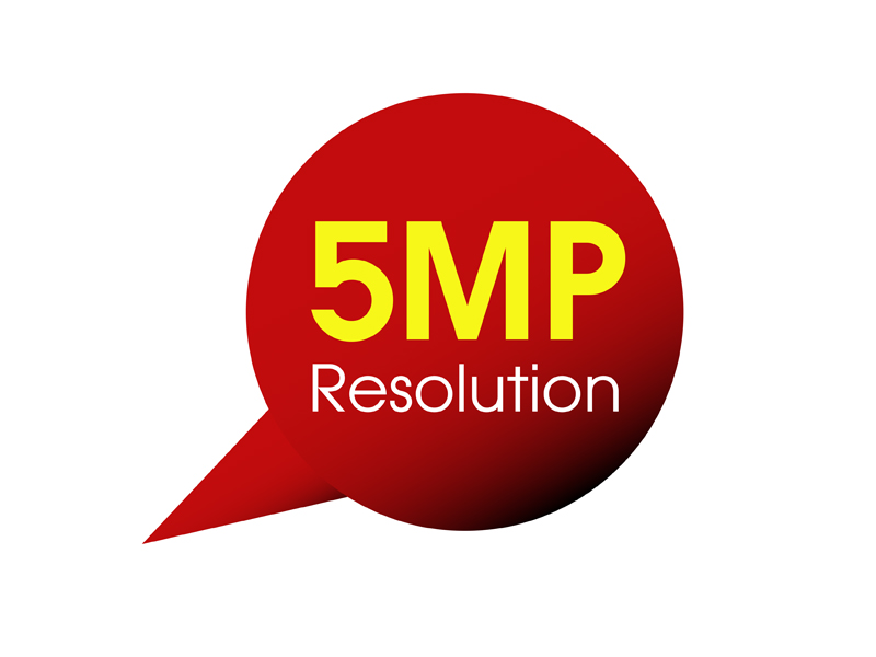 2MP Resolution