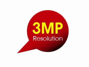 3MP Resolution