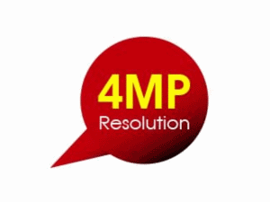 4MP Resolution