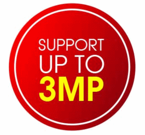 Support Up to 3MP